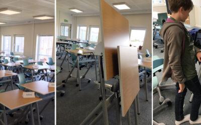 360 elevbord finns nu på Ekens skolan, Stockholm