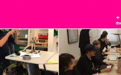 80 höj- och sänkbara bord till Skanör Falsterbo Montessoriskola!
