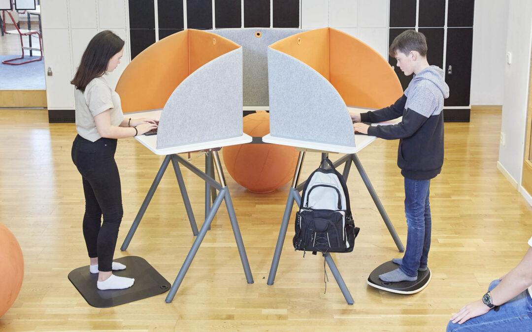 Möblera klassrummet